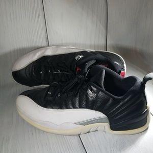 Jordan 12 low top tennis shoes US size 10 men